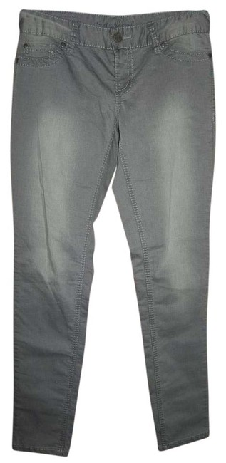 Preload https://item2.tradesy.com/images/maurices-grey-coated-skinny-jeans-size-32-8-m-15974746-0-1.jpg?width=400&height=650