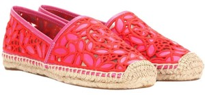 Tory Burch Pink/Red Flats