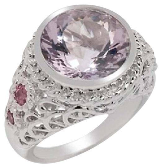Preload https://img-static.tradesy.com/item/15974827/victoria-wieck-pink-amethyst-and-tourmaline-447ct-portuguese-cut-sterling-silver-size-7-ring-0-1-540-540.jpg