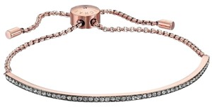 Michael Kors MKJ4363 Michael Kors Crystal Slider Bar Bracelet Rose Gold Tone