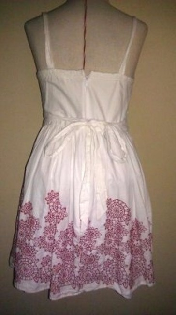 Charlotte Russe short dress white/red on Tradesy