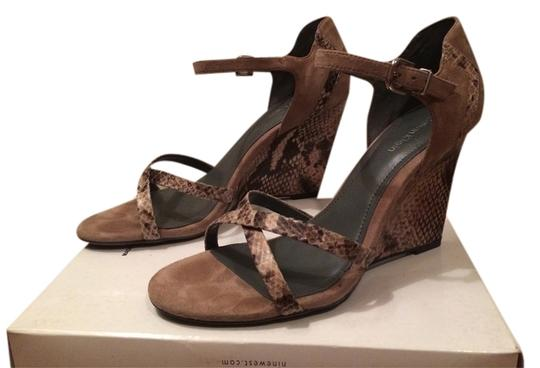 Calvin Klein Wedge Grey Sandals