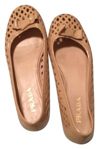 Prada Sandy blush Flats
