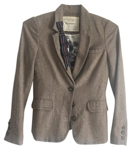 Anthropologie Taupe Blazer