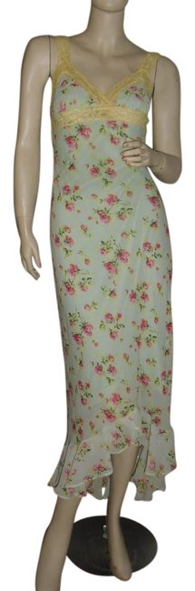 Preload https://item3.tradesy.com/images/betsey-johnson-seafoam-pink-unique-and-yellow-lace-bodycon-long-casual-maxi-dress-size-petite-6-s-15975217-0-1.jpg?width=400&height=650