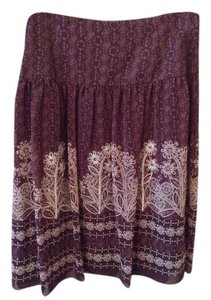 Bandolino Skirt Brown, mocha and cream