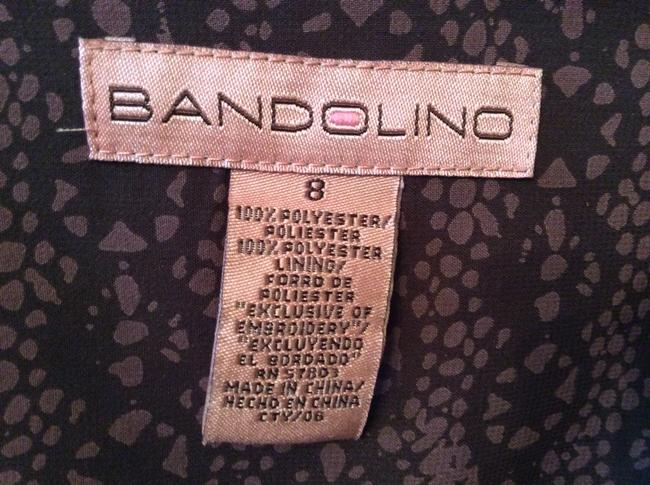 Bandolino Apparell Dress Workplace Embroided Skirt Brown, mocha and cream
