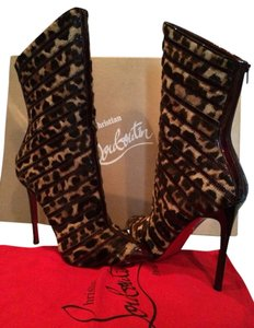 Christian Louboutin Leopard Boots