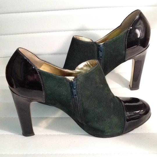 Via Spiga Dark Green/Black Boots