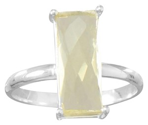 Other Faceted Lemon Quartz Ring