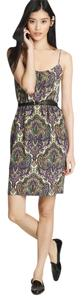 J.Crew short dress MULTI COLOR Royal Paisley on Tradesy
