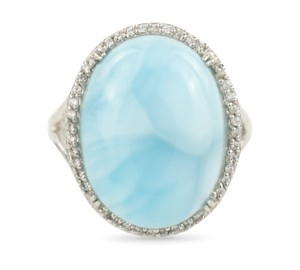 Other Larimar and Cubic Zirconia Cocktail