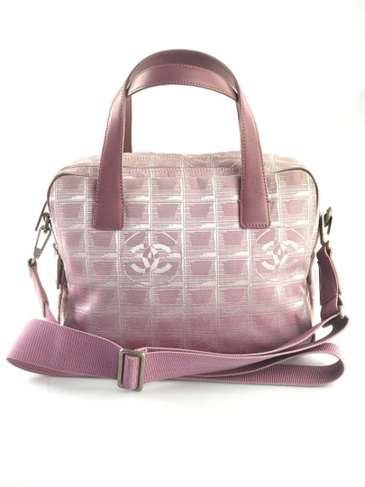 Chanel Line Convertible Satchel in Pink