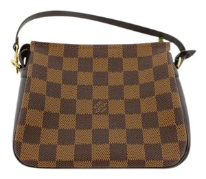 Louis Vuitton Brown Ebene Clutch