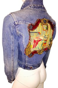 Abercrombie & Fitch blue denim Womens Jean Jacket