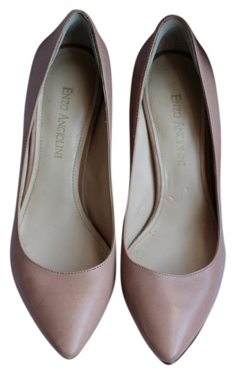 Preload https://item2.tradesy.com/images/enzo-angiolini-leather-work-nude-slim-natural-nude-pumps-1597946-0-2.jpg?width=440&height=440