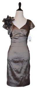 Jessica Simpson Gold Bodycon Cap Sleeve Metallic Shimmery Js0x2109 Party Gold Party New Year's Eve Dress