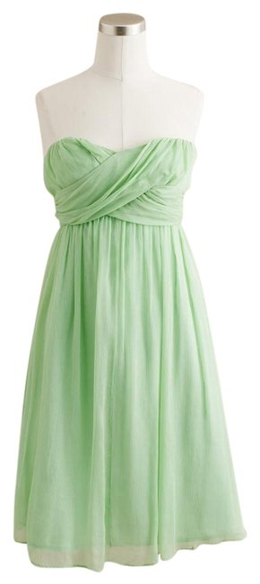 J.Crew Bridesmaid Chiffon Dress