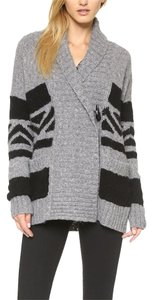 CRIPPEN Chunky Knit Sweater Cardigan