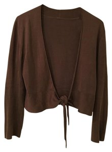 Tommy Bahama Tie Front Sweater Crop Cardigan