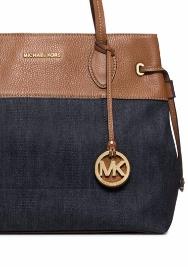 Michael Kors Tote in Dark Denim