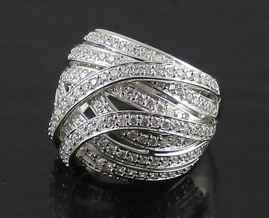 Victoria Wieck Victoria Wieck 1.47ct Absolute Multirow Dome Ring - Size 5