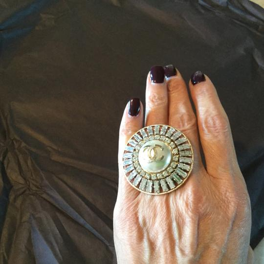 Chanel Chanel bejeweled ring