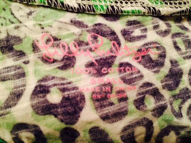 Lilly Pulitzer T Shirt leopard