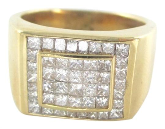 Preload https://img-static.tradesy.com/item/1598095/gold-14kt-solid-yellow-136-grams-46-diamonds-150-ct-cluster-size-8-ring-0-0-540-540.jpg