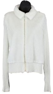 Shaver Lake Ivory Knit Faux Sweater