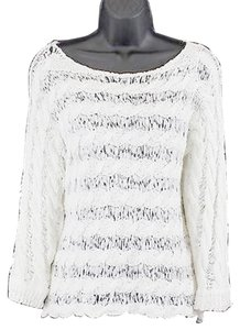 Anthropologie Moth 21aniux730 Ivory Sweater