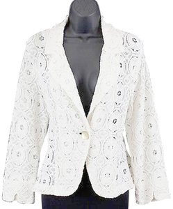 For Cynthia Cream Lace Jacket