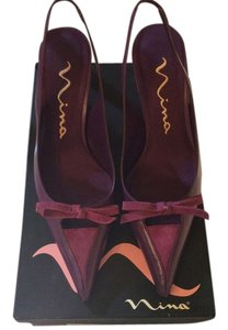 Nina Shoes Suede Casual Nina Designer Amethyst Pumps