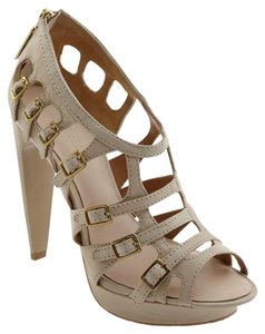 L.A.M.B. Cage Sandal Summer Winter Light Gray Sandals