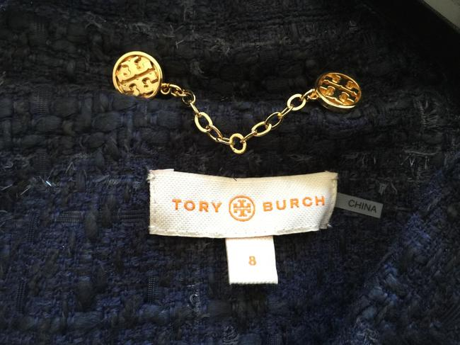Tory Burch Navy tweed Blazer
