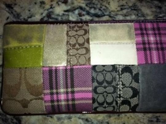 Coach Wristlet in Patchwork