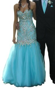 Alyce Paris Prom Homecoming Full Length Strapless Alyce Dress