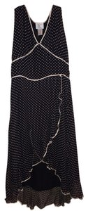 Vision Silk Polka Dot Sleeveless Dress
