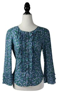 Moschino Top Blue, green