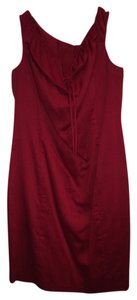 Laundry by Shelli Segal short dress dark red Red on Tradesy