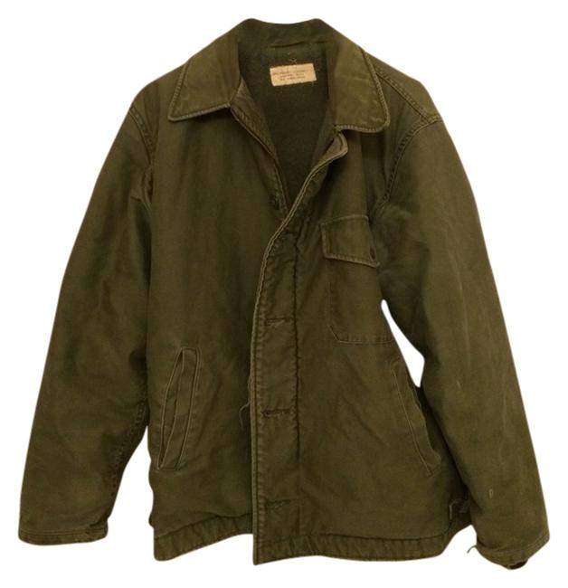 US Government Military Green Jacket