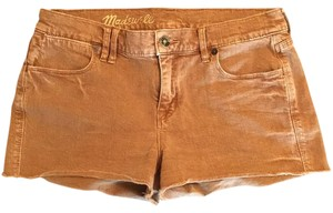 Madewell Cut Off Shorts Brown