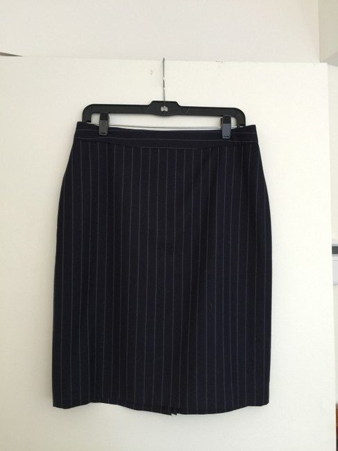 Brooks Brothers Skirt navy striped