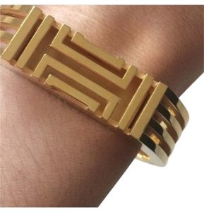 Tory Burch Tory Burch for Fitbit - Metal Hinged Bracelet (gold)