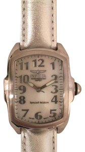 Invicta Invicta Mother of Pearl Glow In The Dark Leather Special Edition