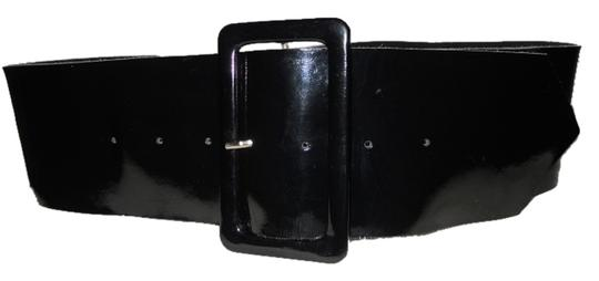 Other Wide patent leather belt