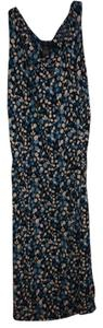 BCBG short dress blue Floral Sleeveless Multi on Tradesy