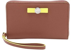 Marc by Marc Jacobs Marc By Marc Jacobs Brown Sophisticato Disc Bow Wingman Wallet