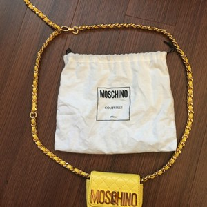 Moschino Quilted Chanel Mini Cross Body Bag