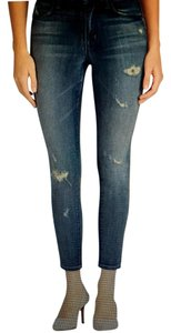 J Brand Alana Highrise Wash Skinny Jeans-Light Wash